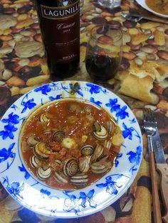 Snails Recipe, Salsa Picante, Carne, Tapas, Shrimp, Pancakes, Sandwiches, Fish, Octopus