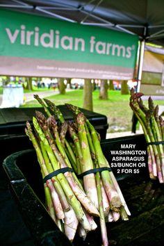 Heirloom Asparagus from Viridian Farms