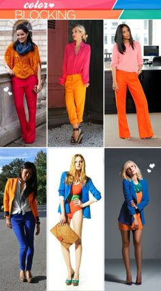 color blocking insp