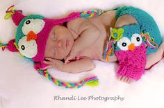 Girl OWL Set  Matching Hat and Leg Warmers by RainyDayDelightz, $50.00