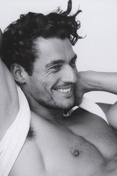 David Gandy - believe it or not, it's the crinkly eyes that do it for me <3