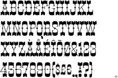 dd8946eb194c2fb3ec1c98bda7d14b81--western-fonts-lemonade Old Western Letter Template on