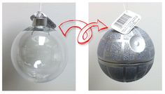 Custom Death Star Ornament - I'm fully aware I'm never going to make this but maybe somebody else would make this for me? I'd like a full set too)