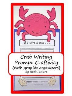 Ocean Animals - Crab Writing Prompt Craftivity