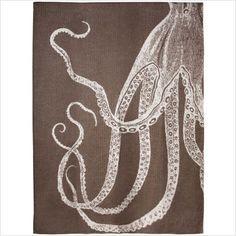 thomas paul baby alpaca octopus throw in java $350