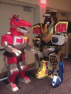 Awesome Power Ranger Cosplay Zord Costumes