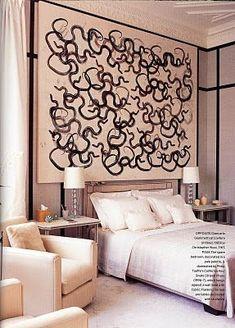Bedroom interior design and decor ideas - neutral colors - grange Home, Bedroom Interior, Modern Cozy Living Room, Bohemian Style Bedrooms, Living Room Bedroom, Bedroom Decor, Beautiful Bedrooms, Interior Design, Home Deco