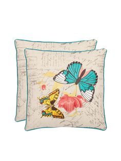 Ilavia Pillows (Set of 2) from The Perfect Pair: Pillow Sets From $49 on Gilt