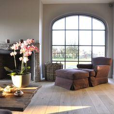 "realisatie - Timeless Living: steel window ""made by Vervaeck Dirk bvba"""