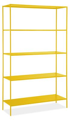 Comes in different colors - Slim Shelves in Colors - Bookcases & Shelves - Office - Room & Board