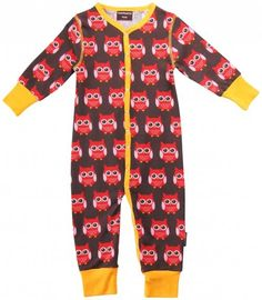 0f7131204 Organic romper suit - Red Owls Toddler Boy Outfits, Toddler Gifts, Kids  Outfits,