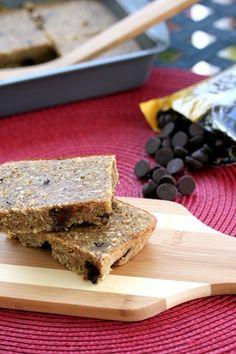 Fun new way to incorporate protein-packed quinoa: gluten free dark chocolate quinoa bars