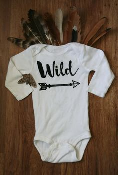 Wild Baby Gift Onesie at That's What We Said Shop on Etsy!