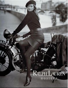 Just out here having good fun!   Bikes will never be only meant for dudes #hotmotorcyclegirl James Jones, Cafe Racer Girl, Retro Bike, Motorcycle Outfit, Motorcycle Girls, Motorbike Girl, Motorcycle Art, Ralph Lauren Style, Isabelle