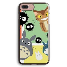 Totoro and Friends Apple iPhone 7 Plus Case Cover ISVF520