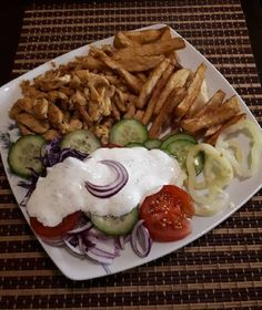 Gyro Pita, Bacon, Mexican, Foods, Ethnic Recipes, Kitchen, Food Food, Baking Center, Cooking