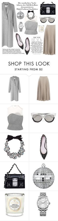 """rock your wardrobe"" by eleanoranukam ❤ liked on Polyvore featuring L.K.Bennett, Warehouse, Vika Gazinskaya, Linda Farrow, J.Crew, Dsquared2, CB2, Voluspa and Calvin Klein"
