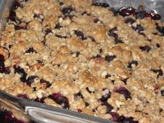 Blueberry Crisp  |  Simple Fare, Fairly Simple