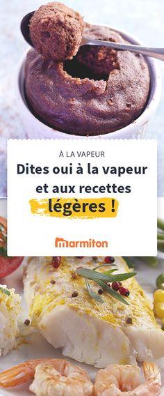 Il n'y a pas que les légumes qui peuvent être cuits à la vapeur ! Les gâteaux et cakes y trouvent un moelleux incomparables, les poissons et les viandes une cuisson douce, vous allez être étonnés ! Découvrez l'étendue de ce que vous pouvez faire cuire à la vapeur grâce à notre sélection de recettes Marmiton #marmiton #recette #vapeur #legume #poisson #viande #gateau #leger #light #cuisson