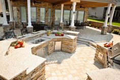 Mahaz Project Outdoor Living Areas, Living Spaces, Memorial Day, Concrete Pavers, Pool Decks, Unique Lighting, Water Features, Backyard, Building