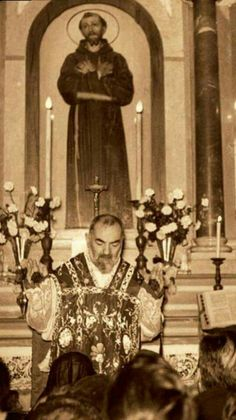 St. Padre Pio, pray for us