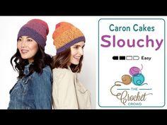 Crochet Beanie Slouchy Featuring Caron Cakes + Tutorial - The Crochet Crowd