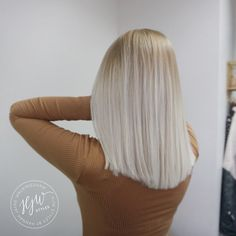 Ice blonde hair || @hjwstyles
