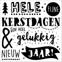 handlettering-kerstkaart-nl - Christmaholic.nl