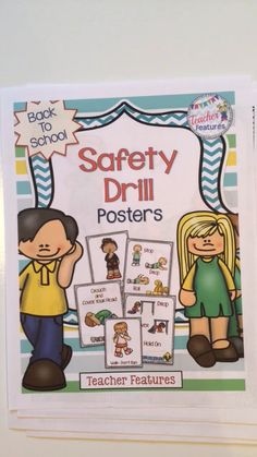 FIRE, EARTHQUAKE & TORNADO SAFETY  Be ready for Fire Prevention Week and natural disaster safety training! Designed to supplement your Safety lessons or provide a starting point, this packet contains 11 Anchor Charts for Fire Safety, Tornado Drills and Earthquakes. Perfect for the K-3 classroom!