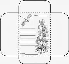 PIN COUNT This Seed packet is for those of use who share our seeds with friends. I designed a matching mailing envelope. Seed Packet Template, Garden Journal, Junk Journal, Bible Journal, Journal Cards, Vintage Seed Packets, Seed Packaging, Garden Seeds, Herbs Garden