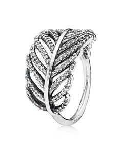 In love with this feather ring