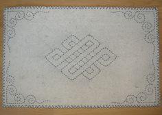mongolian pattern.