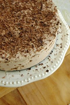 Mocha Chocolate Icebox Cake . . . And A Casual Birthday Brun...