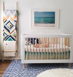 In this gem nursery room, sea nursery, nursery neutral, girl nursery, baby Nursery Themes, Nursery Room, Girl Nursery, Kids Bedroom, Nursery Decor, Nursery Ideas, Themed Nursery, Beach Theme Nursery, Sea Nursery