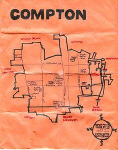 Ink map of Compton http://www.amoeba.com/blog/2011/02/eric-s-blog/compton-los-angeles-county-s-hub-city-.html