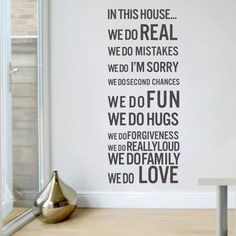 Furniture Stickers Kitchens are made for bringing Family Wall Quote Sticker Decal Mural Decor B100 Home Décor Items