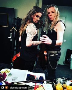 #Repost @eiccatoppinen ・・・ Finnish warriors ready for the battle... And what kind of battle it was!?!? Amazing crowd and show!!! Thank you Rouen!!! #Apocalyptica #rouen #show #brothers #cello #metal #battle @perttukivilaakso #longhairedguys