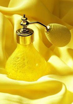 yellow glass - perfume spray with atomizer Lemon Yellow, Green And Orange, Yellow Roses, Golden Yellow, Jaune Orange, Yellow Fever, Yellow Brick Road, Yellow Submarine, Yellow Fashion
