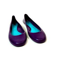 29782c78fd0 oka b Purple Shoes Womens Size 7 Round Toe Ballet Flats Spring Summer  Footwear