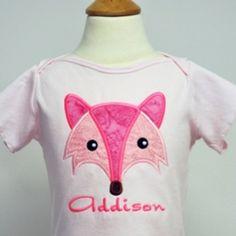 Sweet Fox Applique