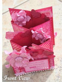 Homespun Scrapbooking:  TUTORIAL FOR CASCADE CARD Easel Cards, Card Tutorials, Challenges, Gift Wrapping, How To Make, Scrapbooking, Crafts, Ideas, Tutorials