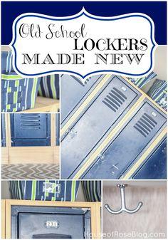 Old School Lockers Made New