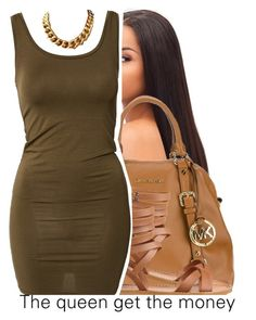 """simple."" by trinityannetrinity ❤ liked on Polyvore featuring MICHAEL Michael Kors, Nine West and mbyM"