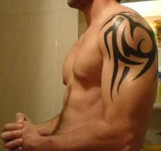 cool shoulder blade tattoos for guys - Google Search