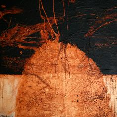 Hafid Marbou Collagraph, Moonlight, Madness, Landscape, Abstract, Artwork, Painting, Art, Kunst