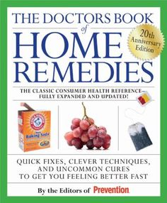 Great home remedies!