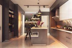 O bucatarie cu mult stil. #amenajaribucatarii, #decorinterior, #culorineutre