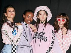 Throwback London Fashion Week: Western cool at House of Holland ____________________________________________ @Regrann from @benparksphoto - Backstage @houseofholland AW17! #houseofholland #georgiafowler #westernchic #aliciaburke #monaoffi #lorellerayner #fw17 #aw17 #fashionweek #lfw #henryholland #girls #models  via VOLT MAGAZINE OFFICIAL INSTAGRAM - Celebrity  Fashion  Haute Couture  Advertising  Culture  Beauty  Editorial Photography  Magazine Covers  Supermodels  Runway Models