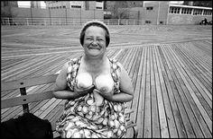 Bruce Gilden, Coney Island, 1977