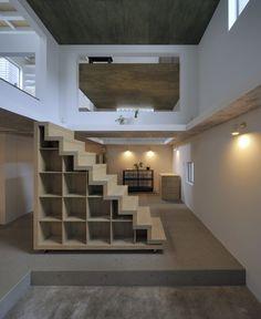 loft stairs. love this.